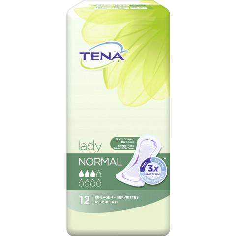 TENA Lady Normal 12 Einlagen für Blasenschwäche