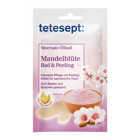 Tetesept Meeressalz-Ölbad Mandelblüte Bad & Peeling 65 g