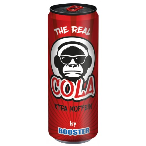 Booster The Real Cola 0,33 ltr Dose