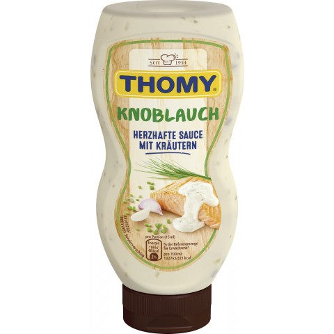 Thomy Knoblauch Sauce