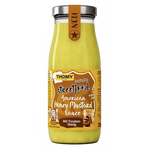 Thomy Streetfood American Honey Mustard Sauce 250 ml