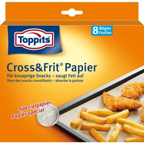 Toppits Cross & Frit Papier 37 x 30 cm 8 Stück