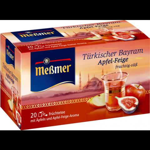 Meßmer Tee Türkischer Bayram Apfel Feige
