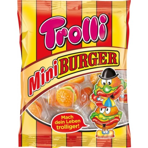 Trolli Mini Burger 170 g