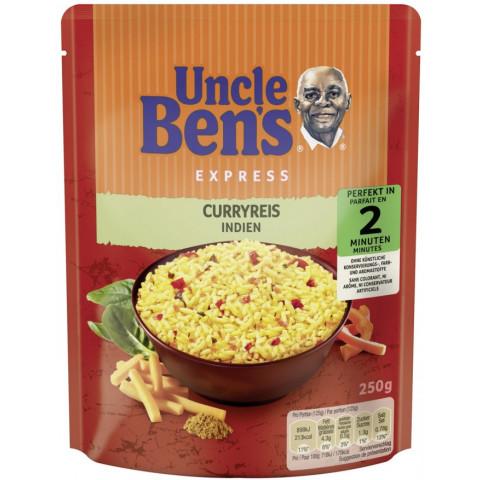 Uncle Ben's Express Curryreis Indien