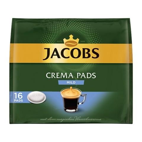 Jacobs Crema Pads mild 16x 6,56 g