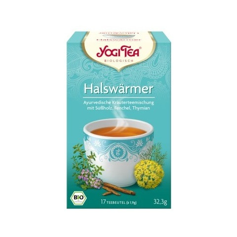 Yogi Tea Bio Halswärmertee 17ST 32,3G