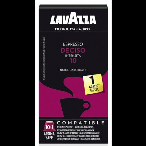 Lavazza Espresso Deciso Nespressso kompatible Kaffeekapseln 11x 5 g