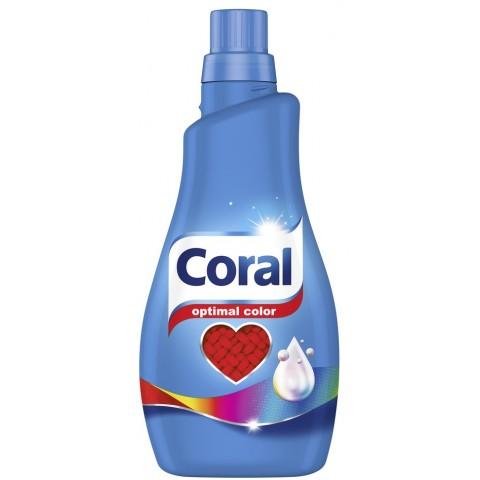 Coral Optimal Color Flüssigwaschmittel 1,1 ltr 22 WL
