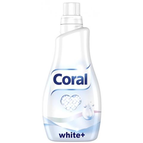 Coral White+ Flüssigwaschmittel 1,1 ltr 22 WL