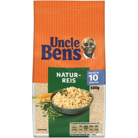 Uncle Ben's Natur-Reis lose 10 Minuten