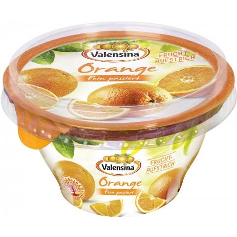 Valensina Fruchtaufstrich Orange fein passiert