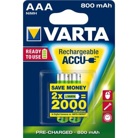 Varta Rechargeable ACCUS AAA 2 Stück