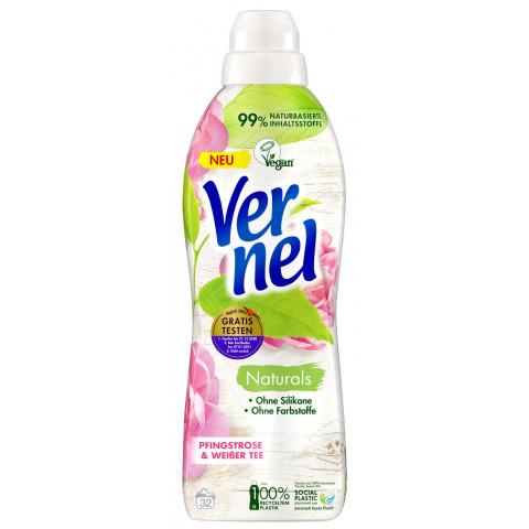 Vernel Weichspüler Naturals Pfingstrose & Weißer Tee 800ML 32WL
