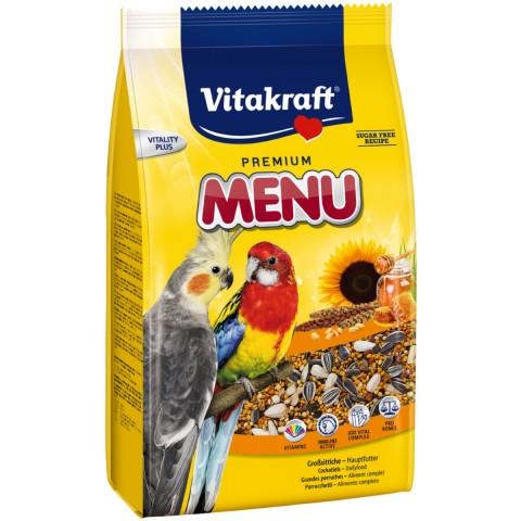 Vitakraft Premium Menü für Großsittiche 1 kg