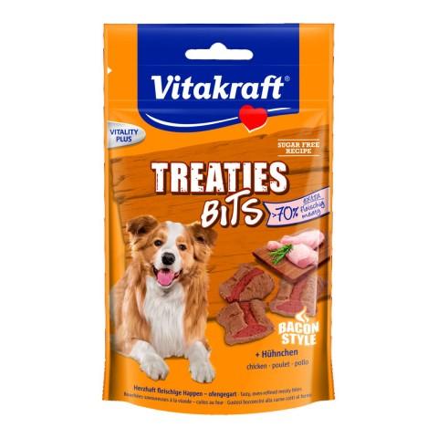 Vitakraft Treaties Bits mit Hühnchen - Bacon Style 120 g