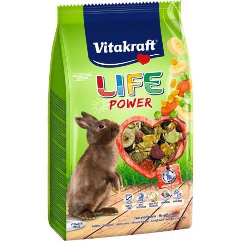 Vitakraft Zwergkaninchenfutter Life Power