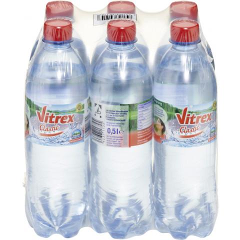 Vitrex Mineralwasser Classic PET 6x 500ml