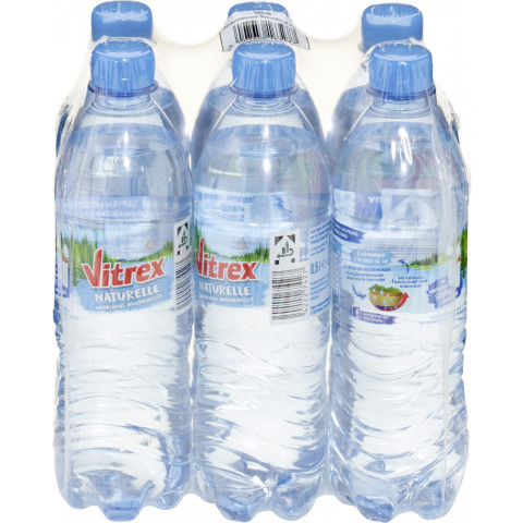 Vitrex Mineralwasser Naturelle PET 6x 500ml