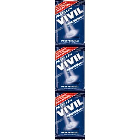 Vivil Friendship Pfefferminze zuckerfrei 3x 25 g