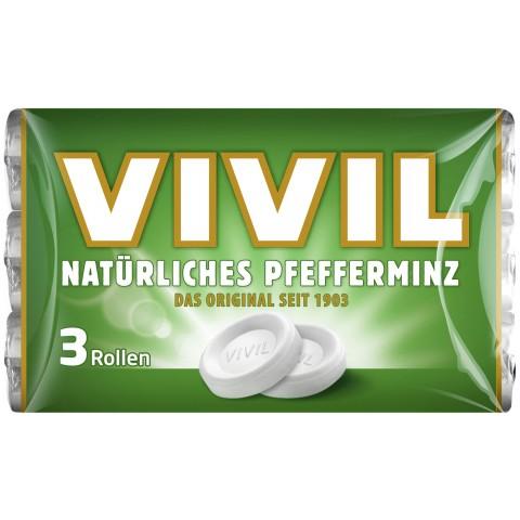 Vivil Natürliches Pfefferminz 3x 29 g