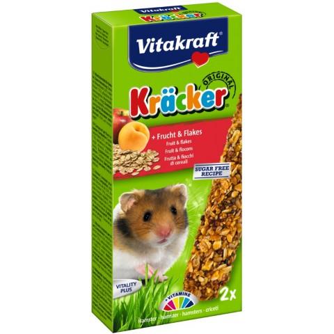 Vitakraft Hamster Kräcker Frucht & Flakes 112 g