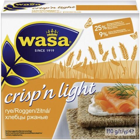 Wasa Knäckebrot Crisp'n Light Roggen