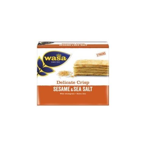 Wasa Delicate Crisp Sesame & Sea Salt 190 g
