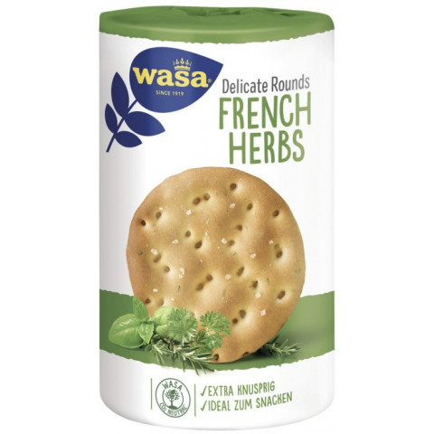 Wasa Delicate Rounds French Herbs 205G
