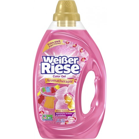 Weißer Riese Color Gel Aromatherapie Malaysia Orchidee & Sandelholz 1 ltr