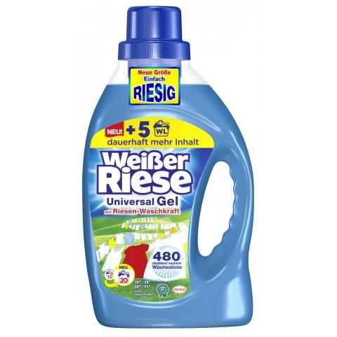 Weißer Riese Universal-Gel Flüssig-Waschmittel 1,46 L