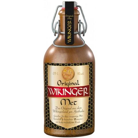 Wikinger Met Honigwein im Tonkrug 0,5 ltr