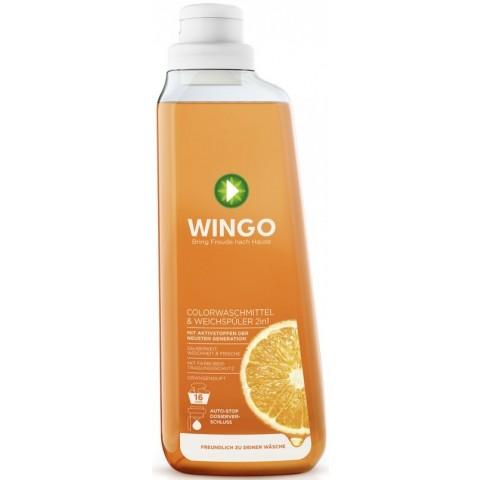 Wingo 2 in 1 Colorwaschmittel & Weichspüler