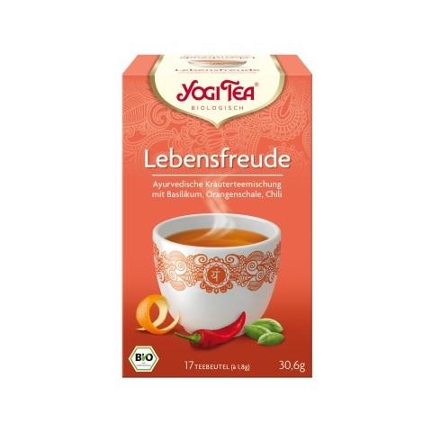 Yogi Tea Bio Lebensfreudetee 17x 1,8 g