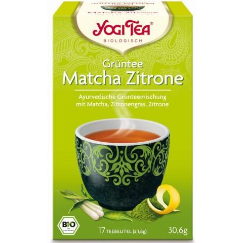 Yogi Tea Bio Grüntee Matcha Zitrone