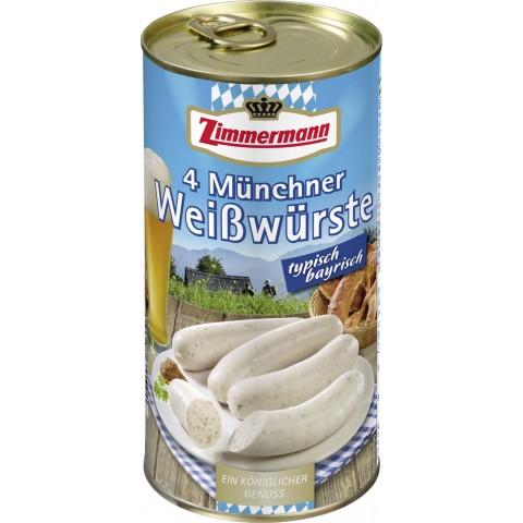 Zimmermann Münchner Weißwürste 530 g