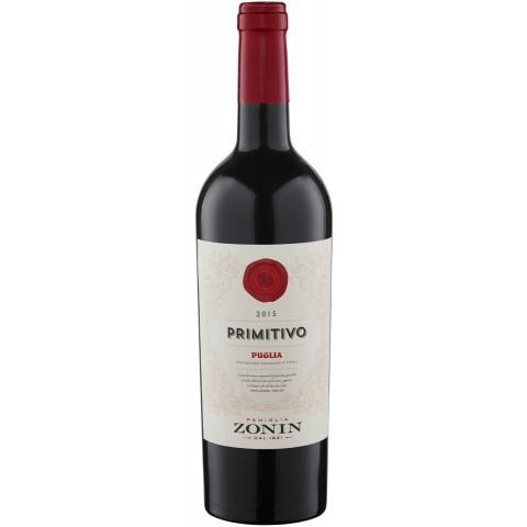 Zonin Primitivo Puglia 2017 0,75 ltr