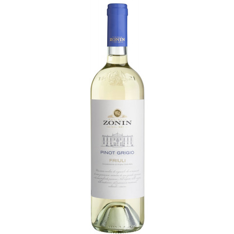 Zonin Pinot Grigio DOC Weißwein 2019 0,75 ltr