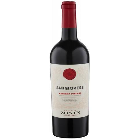 Zonin Sangiovese Maremma Toscana DOC Rotwein 2019 0,75L
