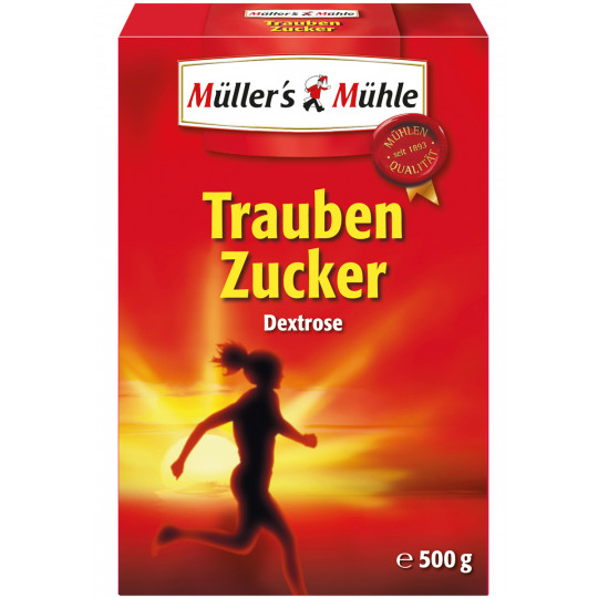 Müller's Mühle Traubenzucker 500 g