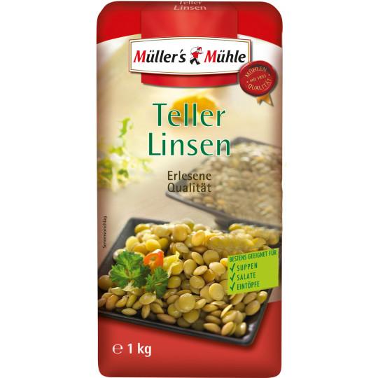 Müller's Mühle Teller-Linsen 1 kg