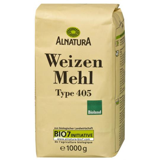 Alnatura Bio Weizenmehl Typ 405 1KG