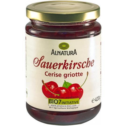 Alnatura Bio Fruchtaufstrich Sauerkirsche 420G