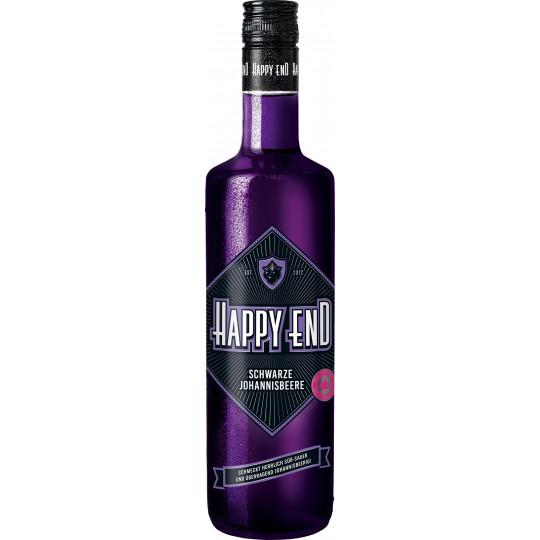 Happy End Schwarzer Johannisbeer-Likör 0,7 ltr