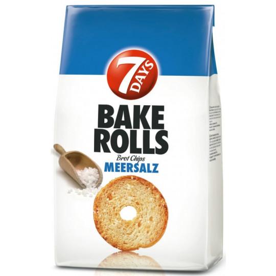 7 Days Bake Rolls Meersalz 250G
