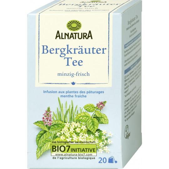 Alnatura Bio Bergkräuter Tee 20x 1,75G