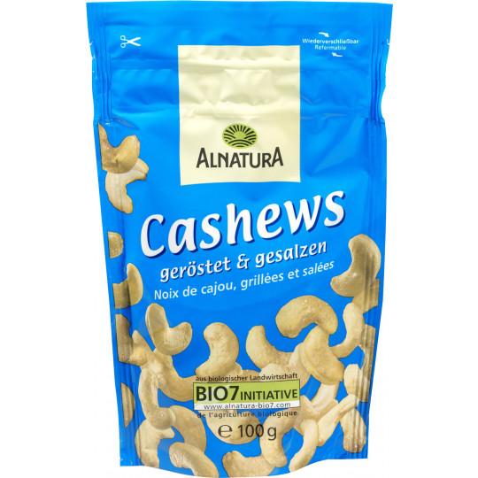 Alnatura Bio Cashews geröstet & gesalzen 100G