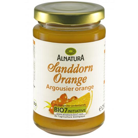 Alnatura Bio Fruchtaufstrich Sanddorn-Orange 250G