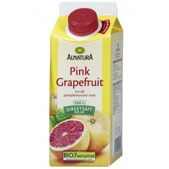 Alnatura Bio Pink Grapefruit Saft 0,75 ltr