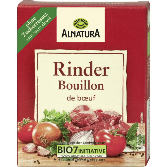 Alnatura Bio Rinder Bouillon 6x 11G